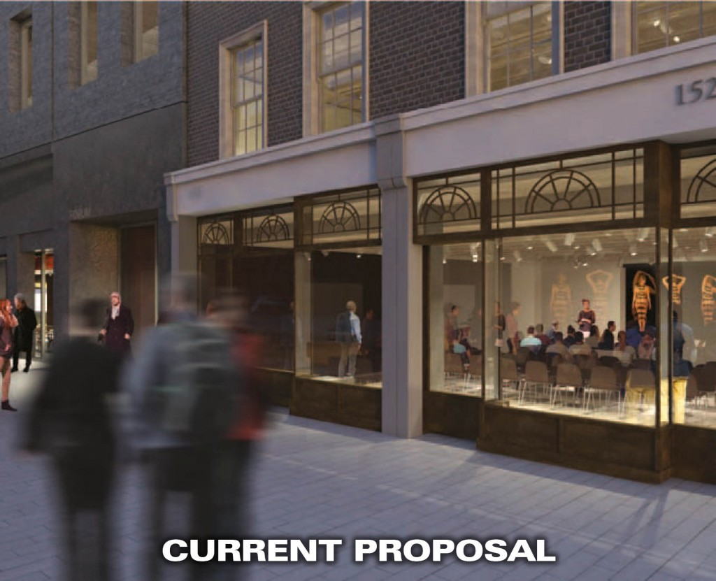 Front of Strand CURRENT proposal