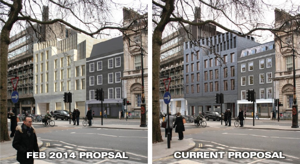 Front of Strand proposal