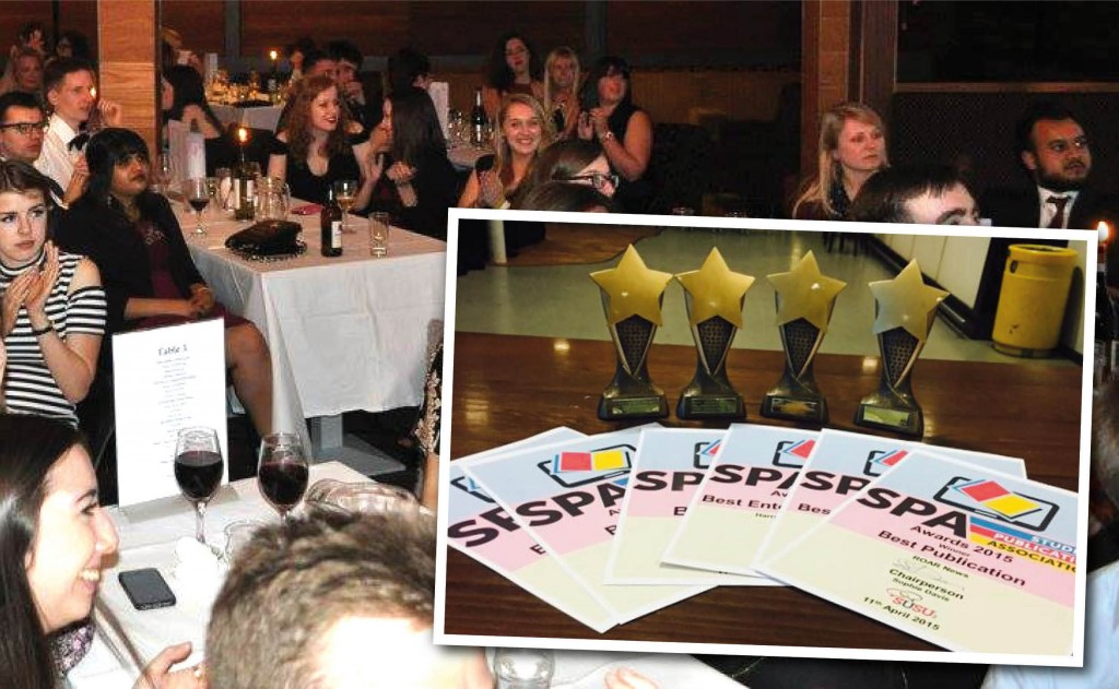 SPA Awards evening. Inset: Roar's awards