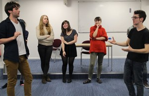 Improvised drama at KCL