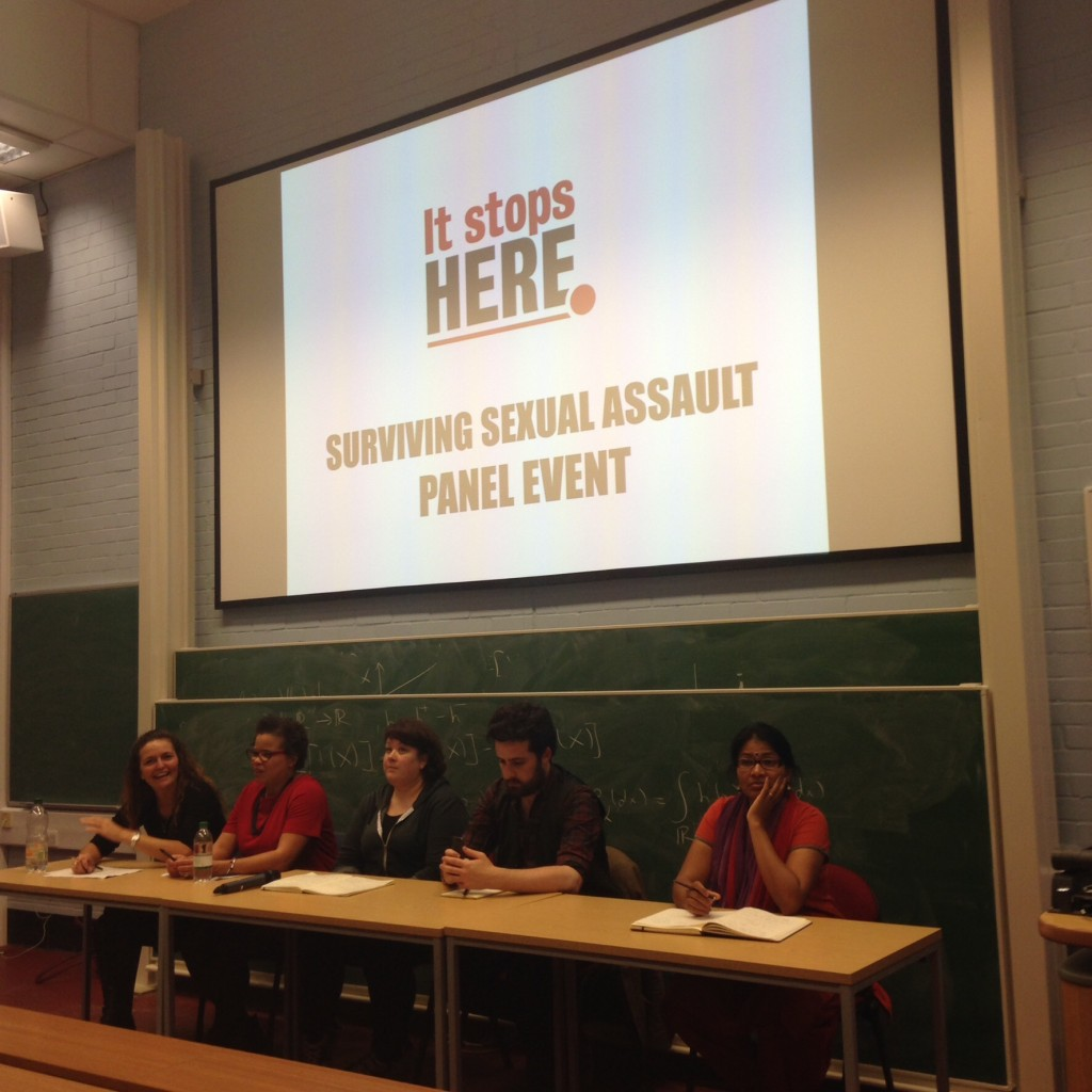 KCL event on surviving sexual assault