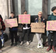 Protestors occupy KCLSU offices over electoral assault allegations a6e27e97e8c