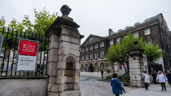 Should KCL rename Guy's Campus?