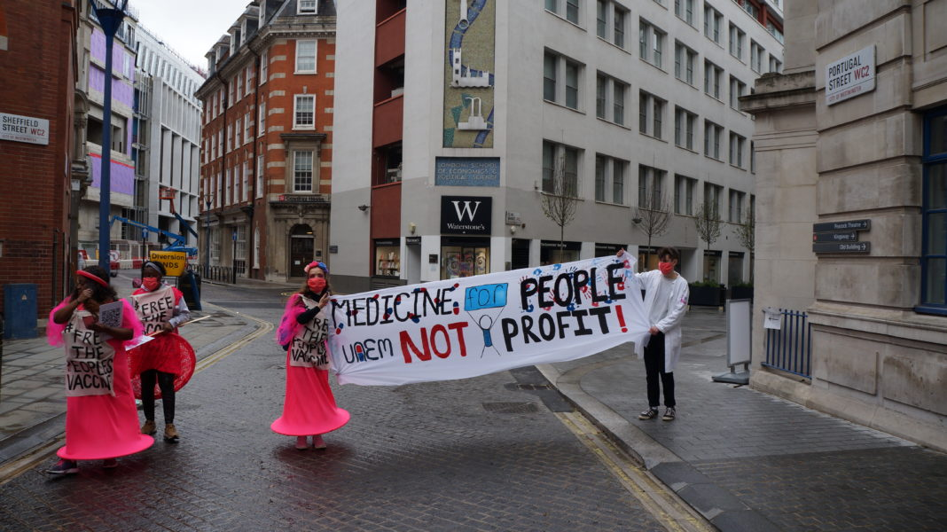 """""""Free the vaccine"""", demand campaigners; they want to de-patent covid-19 research"""