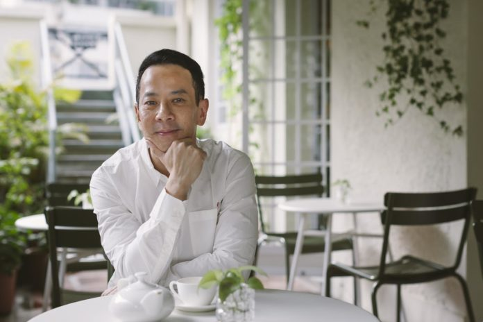 Ray Yeung interview photograph