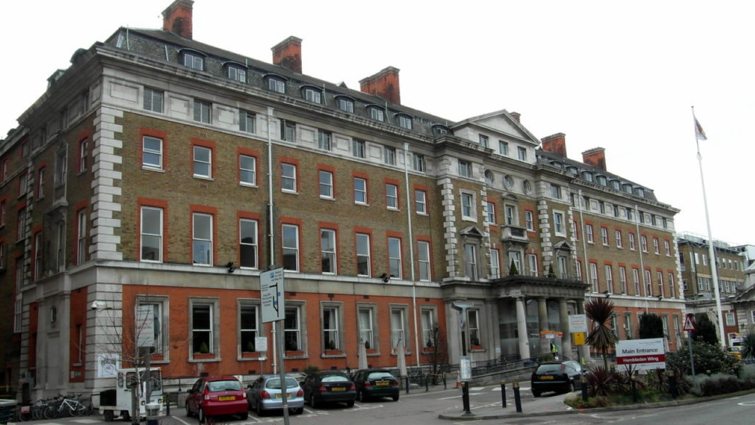 King's College Hospital fire risk