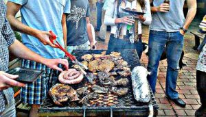 braai, a traditional south african barbecue