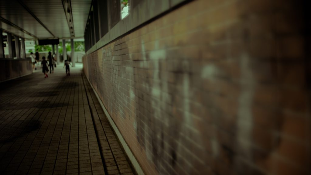 Interview HKU student journalist: Washed out walls in the post-NSL Hong Kong University campus [month] 2020
